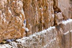 Τοίχος Wailing Στοκ φωτογραφία με δικαίωμα ελεύθερης χρήσης