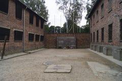 Τοίχος Wailing Auschwitz Στοκ Εικόνες