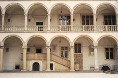 Τοίχος Wawel Castle Στοκ Φωτογραφίες