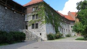 Τοίχος Wawel Castle Στοκ φωτογραφία με δικαίωμα ελεύθερης χρήσης