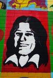 Τοιχογραφία με τις άμμους του Bobby, Μπέλφαστ, Βόρεια Ιρλανδία στοκ φωτογραφίες