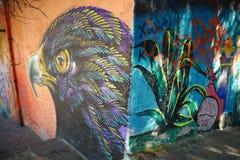 Τοιχογραφία στην πόλη Guanajuato, Μεξικό Στοκ φωτογραφίες με δικαίωμα ελεύθερης χρήσης