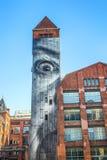 Τοιχογραφία στο Βερολίνο, Γερμανία Στοκ φωτογραφία με δικαίωμα ελεύθερης χρήσης