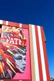 Τοιχογραφία στο στο κέντρο της πόλης Λας Βέγκας Στοκ Εικόνα