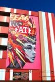 Τοιχογραφία στο στο κέντρο της πόλης Λας Βέγκας Στοκ Φωτογραφίες