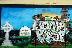 Τοιχογραφία στο Bogside, Derry, Βόρεια Ιρλανδία στοκ εικόνες