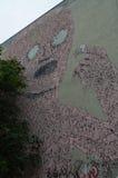 Τοιχογραφία του Βερολίνου Στοκ εικόνα με δικαίωμα ελεύθερης χρήσης