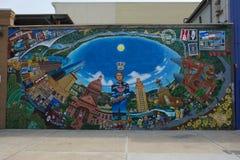 Τοιχογραφία του Ώστιν Στοκ φωτογραφίες με δικαίωμα ελεύθερης χρήσης