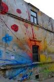 Τοιχογραφία, Tarnow στοκ εικόνες με δικαίωμα ελεύθερης χρήσης