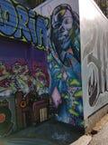 Τοιχογραφίες στην περιοχή αποστολής, Σαν Φρανσίσκο στοκ φωτογραφίες