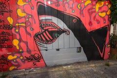 Τοιχογραφίες στο Σαν Φρανσίσκο Στοκ εικόνα με δικαίωμα ελεύθερης χρήσης