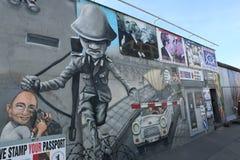 Τοιχογραφίες τειχών του Βερολίνου Στοκ Εικόνα