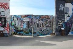 Τοιχογραφίες τειχών του Βερολίνου Στοκ Εικόνες