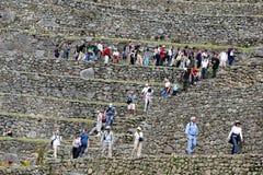 Τοιχοποιία Picchu Machu Στοκ Φωτογραφίες