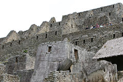 Τοιχοποιία Picchu Machu Στοκ Εικόνα