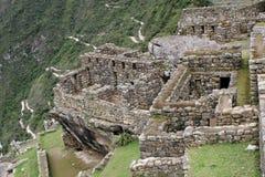 Τοιχοποιία Picchu Machu Στοκ Εικόνες