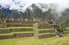 Τοιχοποιία Picchu Machu Στοκ εικόνα με δικαίωμα ελεύθερης χρήσης