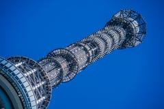 ΤΟΚΙΟ, ΙΑΠΩΝΙΑ - 13 ΜΑΐΟΥ: Τόκιο Skytree, ένας διάσημοι πύργος και ένα ορόσημο του Τόκιο Στοκ φωτογραφία με δικαίωμα ελεύθερης χρήσης