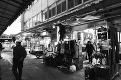 ΤΟΚΙΟ, ΙΑΠΩΝΙΑ 26 ΝΟΕΜΒΡΊΟΥ 2013: Η αγορά Tsukiji είναι μια μεγάλη αγορά για Στοκ φωτογραφία με δικαίωμα ελεύθερης χρήσης