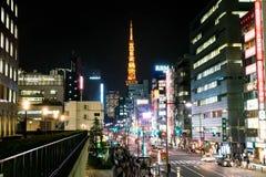 ΤΟΚΙΟ, ΙΑΠΩΝΙΑ - 15 ΝΟΕΜΒΡΊΟΥ: Με πάνω από 35 εκατομμύριο ανθρώπους, το Τόκιο είναι Στοκ Εικόνα