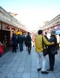 ΤΟΚΙΟ, ΙΑΠΩΝΙΑ - 21 ΝΟΕΜΒΡΊΟΥ: Arcade σε Senso-senso-ji, το σύμβολο Asakusa στοκ εικόνα