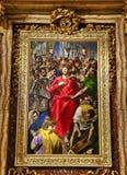 Τολέδο Ισπανία - να ξεντύσει Χριστού στοκ φωτογραφία με δικαίωμα ελεύθερης χρήσης