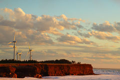 Τομέας αιολικής ενέργειας Στοκ Εικόνες