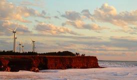 Τομέας αιολικής ενέργειας Στοκ φωτογραφία με δικαίωμα ελεύθερης χρήσης