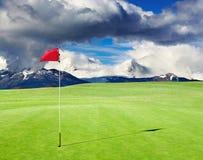 Τομέας γκολφ Στοκ Εικόνα