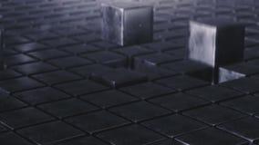 Τομέας ζωτικότητας κύβων βρόχων grunge διανυσματική απεικόνιση