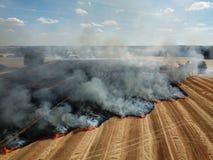 Τομέας στην πυρκαγιά στοκ φωτογραφία με δικαίωμα ελεύθερης χρήσης