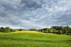 Τομέας στη συννεφιάζω ημέρα Στοκ εικόνες με δικαίωμα ελεύθερης χρήσης