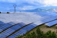 Τομέας των ηλιακών πλαισίων Στοκ Εικόνες