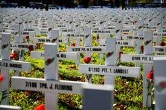 Τομέας των σταυρών για την ημέρα Anzac Στοκ Εικόνα