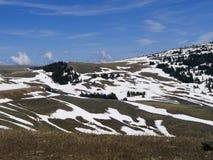 Τομείς πάγου επάνω από το Jackson Hole στο Ουαϊόμινγκ στοκ φωτογραφία με δικαίωμα ελεύθερης χρήσης