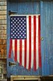 Τονισμένη αμερικανική σημαία Στοκ φωτογραφία με δικαίωμα ελεύθερης χρήσης