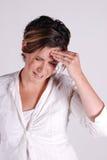 τονισμένη γυναίκα Στοκ φωτογραφία με δικαίωμα ελεύθερης χρήσης