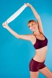 Τονισμένη γυναίκα Sportswear Στοκ εικόνες με δικαίωμα ελεύθερης χρήσης