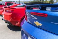 Τον Απρίλιο του 2017 της Ινδιανάπολης - Circa: Αυτοκινητικός αντιπρόσωπος Chevrolet Το Chevrolet είναι τμήμα General Motors VI στοκ φωτογραφία
