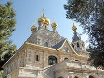 Τον Ιανουάριο του 2008 της Ιερουσαλήμ Μαρία Magdalena Church Στοκ φωτογραφία με δικαίωμα ελεύθερης χρήσης