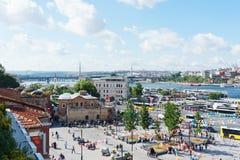 Τον Ιούλιο του 2018, Ιστανμπούλ, Τουρκία Προεκλογική εκστρατεία και εκλογή που κάνουν εκστρατεία σε ένα από τα τετράγωνα της Ιστα στοκ φωτογραφίες με δικαίωμα ελεύθερης χρήσης