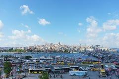 Τον Ιούλιο του 2018, Ιστανμπούλ, Τουρκία Προεκλογική εκστρατεία και εκλογή που κάνουν εκστρατεία σε ένα από τα τετράγωνα της Ιστα στοκ φωτογραφία