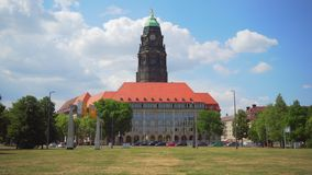 Τον Ιούλιο του 2018 circa της Δρέσδης, Γερμανία: Steigenberger Hotel de Saxe απόθεμα βίντεο