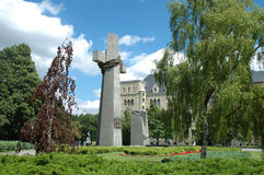 Τον Ιούνιο του 1956 μνημείο θυμάτων στο Πόζναν, Πολωνία Στοκ Εικόνες