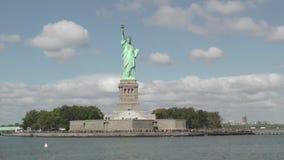 Τον Οκτώβριο του 2016 άγαλμα της ελευθερίας απόθεμα βίντεο