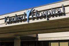 Τον Οκτώβριο του 2016 της Ινδιανάπολης - Circa: Kindred νοσοκομείο, ένα τμήμα του Kindred ενσωματωμένου υγειονομική περίθαλψη Ι Στοκ Φωτογραφία