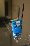 τοξική ουσία κινδύνου Στοκ Εικόνες