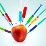 Τοξικό μήλο Στοκ Εικόνες