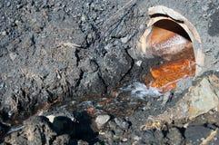 Τοξικό νερό Στοκ Εικόνες