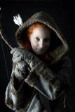 Τοξότης κοριτσιών Στοκ εικόνες με δικαίωμα ελεύθερης χρήσης